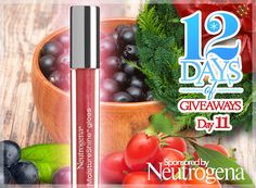 12 Days of Giveaways, Day 11: 7 Ways to Win a Prize Package of All 14 Neutrogena MoistureShine Glosses (Ends December 30, 2013)