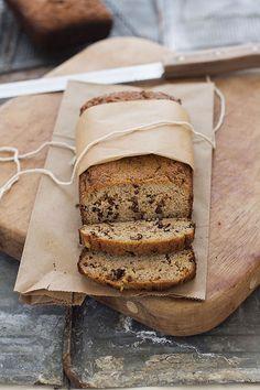Banana Bread (Paleo, Grain Free, Gluten Free) (via Slim Palate)