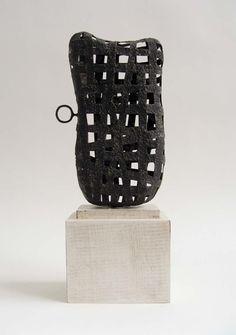 Steel Sculpture, Art Sculpture, Pottery Sculpture, Abstract Sculpture, Wall Sculptures, Sculpture Ideas, Abstract Art, Contemporary Baskets, Contemporary Sculpture