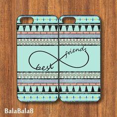 Aztec Best Friends -- Iphone 5 Case