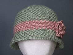 Yarning for Sanity: A Timeless Hat - Free crochet cloche hat pattern in child/adult sizes.