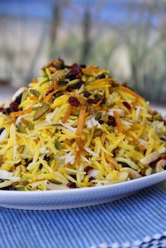 My Persian Feast: Jewelled Rice - مرصع پلو، آجیل پلو، جواهر پلو