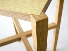 Beautiful - I love joinery!!  Breakdown Furniture by Louie Rigano