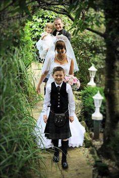The Secret Garden Wedding Venue at The Kingswood Hotel Burntisland Fife East Scotland