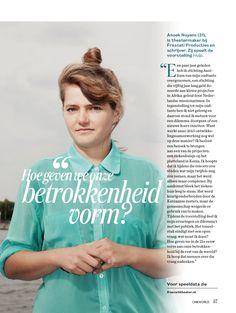 OneWorld magazine nr 7, 2015- Photography Rogier Maaskant- Picture editor Anja Koelstra #OneWorld #AnoekNuyens Picture Editor, My Portfolio, Magazine, Movie Posters, Movies, Photography, 2016 Movies, Film Poster, Films
