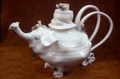 Elephant Teapot, 1975 Coille Hooven