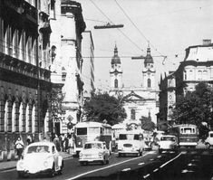 Utca, Budapest Hungary, Old Photos, Countries, Maine, Cities, Street View, History, Beautiful