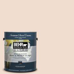 BEHR Premium Plus Ultra 1-gal. #icc-32 Naturale Satin Enamel Interior Paint