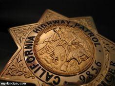 California Highway Patrol Badge