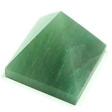 "Wonderful Large 80mm 3""  Green Amazonite Healing Energy Point Pyramid Reiki"