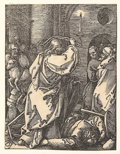 Albrecht Dürer | Christ Expelling the Money Lenders, from The Small Passion | The Met
