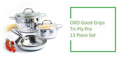 Best Stainless Steel Cookware Set : OXO Good Grips Tri-Ply Cookware Set