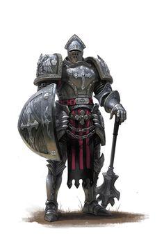 """noisy-pics: """"Holy Roman Knight by Dongjin Lee """""""