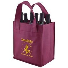Promotional versatile 6 Bottle Wine Bag.. #promotionalwinebag, #customprintedbags,  #imprinteddrinkware.. Versatile 6 Bottle Wine Bag made from 100 GSM premium Non-Woven Polypropylene. Easily add your logo to custom printed and other imprinted promotional materials to meet your marketing and advertising needs. Buy imprinted merchandise in bulk and show off your brand! More details at: http://www.houseofimprints.com/versatile-6-bottle-wine-bag-10-x7-x11