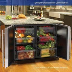 If u have a kitchen island this is a brilliant idea.