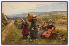 Cesar Pattein (1850 - 1931) | Fransız Ressam - Forum Gerçek