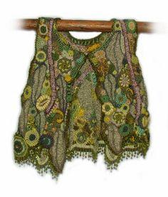 Rens Fibre Art - Crochet Vest