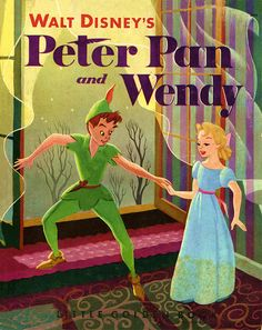 Walt Disney's Peter Pan and Wendy  Little Golden Book