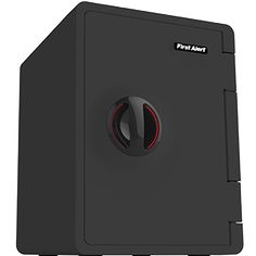First Alert's WiFi Safe is WiFi- and Bluetooth-enabled, which means it can be locked and unlocked with your phone. When necessary, you can grant remote access to friends and family.