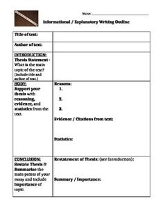 outline and thesis statement guide in appendix f week 6 in com 155 Sample content appendix f outline and thesis statement guide what is your thesis statement online education is an alternative option to traditional educat.