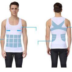 Item specifics Gender:Men Item Type:Shapers Material:Spandex,Nylon Model Number:Posture Corrector Men Size:M,L,XL Match 1:male slimming binder cinto masculino c