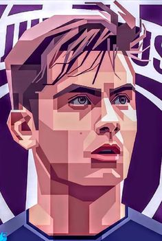 Paulo Dybala - Juventus FC by masqosem Juventus Wallpapers, Ronaldo Real Madrid, Soccer Stadium, Football Art, Football Wallpaper, Juventus Fc, Football Pictures, Soccer Training, Silhouette