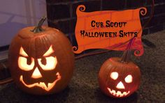 Need a Halloween skit for your October Cub Scout pack meeting?