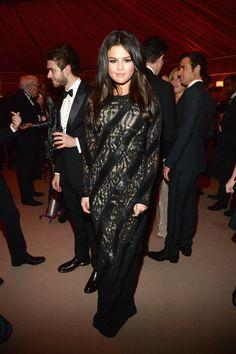 Selena Gomez in Louis Vuitton   - HarpersBAZAAR.com
