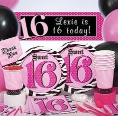 Activity Ideas For A Sweet 16 Birthday Party for Girls kids-party-ideas