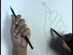 Contour Line Drawing Tutorial - YouTube.  Posted by http://www.craftylady.com