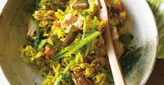 A delicious one-pot wonder, tuna pilau can be served on its own or as part of an Indian banquet.