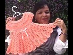 Vestido para niña - Lanas y Ovillos y Tejiendo con Laura Cepeda - Segund...
