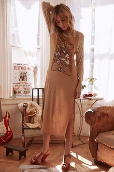 7f1994d7bc6d Staz Lindes wears Spell Designs Wild Child Raglan Dress Bohemian Style,  Boho Chic, Indie