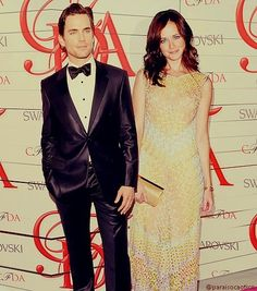 (2) Matt Bomer and Alexis Bledel for Christian Grey and Anastasia Steele