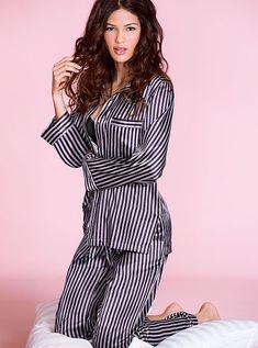 www.victoriassecret.com The Afterhours Satin Pajama