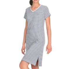 Jockey Women`s Plus Size Striped Sleepshirt $27.00