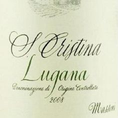 Fantastic white wine from Italy