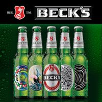 Burak Ağdemir, Beck's Art Label Project için tasarladı