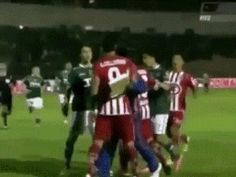 This soccer game/MMA fight: | 24 GIFs That Prove Absolutely Anything Can Happen In Sports