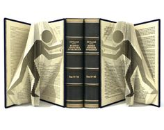 Book folding pattern - BOOK ENDS - 196 folds + Tutorial with Simple pattern - Heart - SI0523