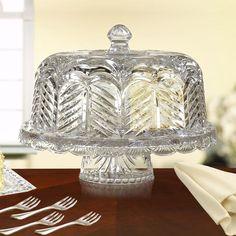 Waterford Crystal  Lismore  Footed Cake Plate | Bloomingdaleu0027s | Bloomingdaleu0027s-The Registry | Pinterest | Shops Waterford crystal and Cake plates & Waterford Crystal