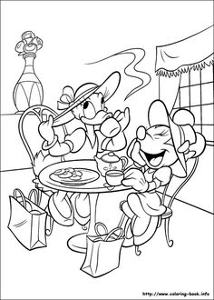 Trend Minnie Mouse And Daisy Duck Coloring Pages 93 Minnie Mouse coloring picture