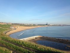 Tynemouth long sands beach 22nd of April 2015 www.tynemouthwebcam.com