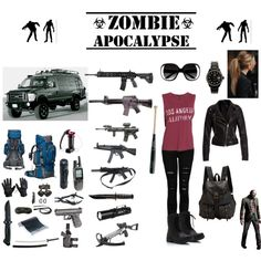 Read Zombie apocalypse outfits from the story Outfits by dontstopreadingxox (Demons Queen) with reads. Zombie Apocalypse Outfit, Apocalypse Fashion, Zombie Apocalypse Survival, Mode Outfits, Grunge Outfits, Fashion Outfits, Walking Dead Clothes, Spy Outfit, Badass Outfit