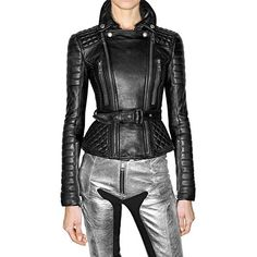 Burberry Prorsum Quilted and Fitted Leather Jacket