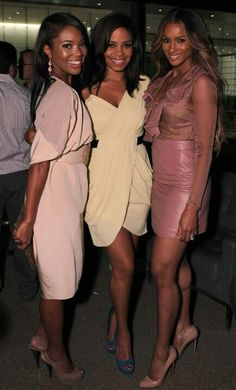 Gabrielle Union, @Sanaa AA Lathan sanaa lathan , Ciara Can you tell who is in their 40s and who's in their 20s? Me either