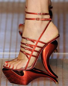 John Galliano SS 2009 Shoes