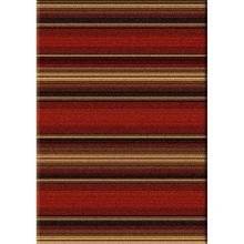 Santa Fe Stripes  - Rustic Country Cabin Rug