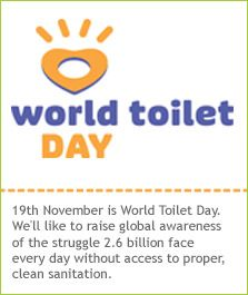 The World Toilet Organization was founded in 2001 as an international platform for thought leaders to exchange knowledge and leverage media and corporate support in an effort to influence governments to promote clean sanitation and public health policies.    The WTO declared its founding day on November 19, 2001 as World Toilet Day, which is celebrated annually worldwide and is geared toward raising awareness on the state of toilets and sanitation.