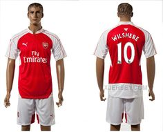 http://www.xjersey.com/201516-arsenal-10-wilshere-home-jersey.html 2015-16 ARSENAL 10 WILSHERE HOME JERSEY Only 33.11€ , Free Shipping!